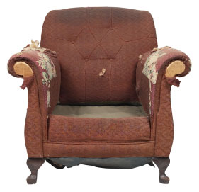 Furniture Medic of Calgary Central Upholstery and Leather Furniture Repairs and Restoration Before